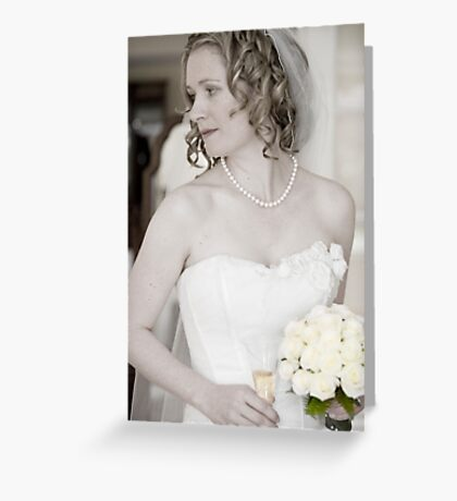 Check my look in the mirror Greeting Card