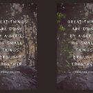 Great Things by Shawna Armstrong