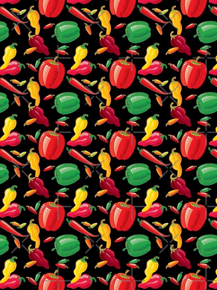 Hot Peppers by rusanovska