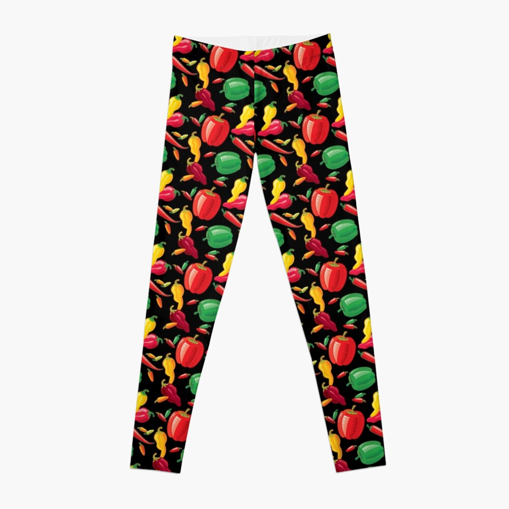 Hot Peppers Leggings