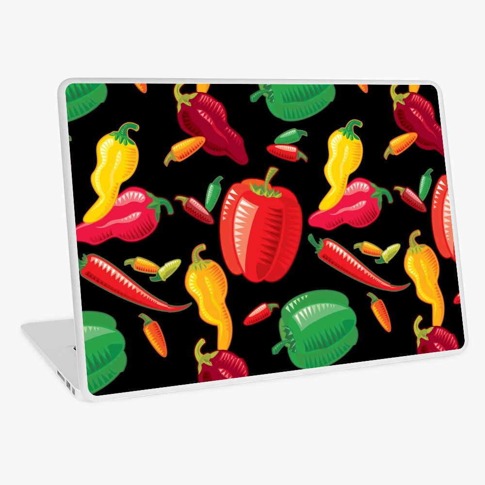 Hot Peppers Laptop Skin