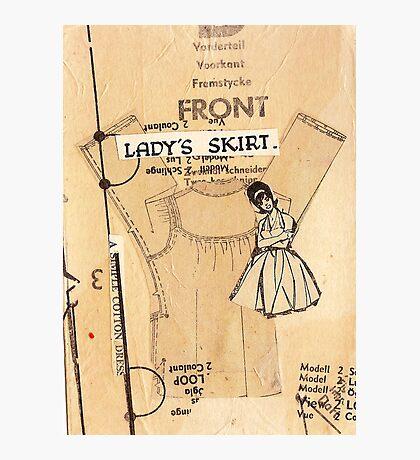 ladies skirt, 2010 Photographic Print