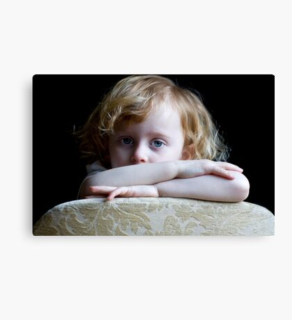 I can do serious! Canvas Print