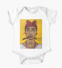Cubana Short Sleeve Baby One-Piece
