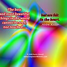 The Best And Most Beautiful Things In The World by empowerwithart