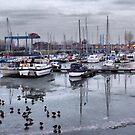Preston Dock  by Lilian Marshall