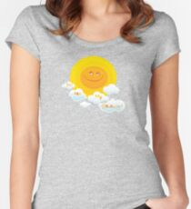 You Are My Sunshine! Fitted Scoop T-Shirt