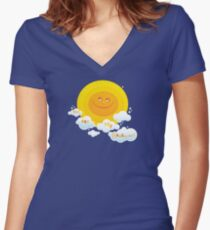 You Are My Sunshine! Fitted V-Neck T-Shirt