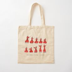 Kate Bush - Wuthering Heights Dance Cotton Tote Bag