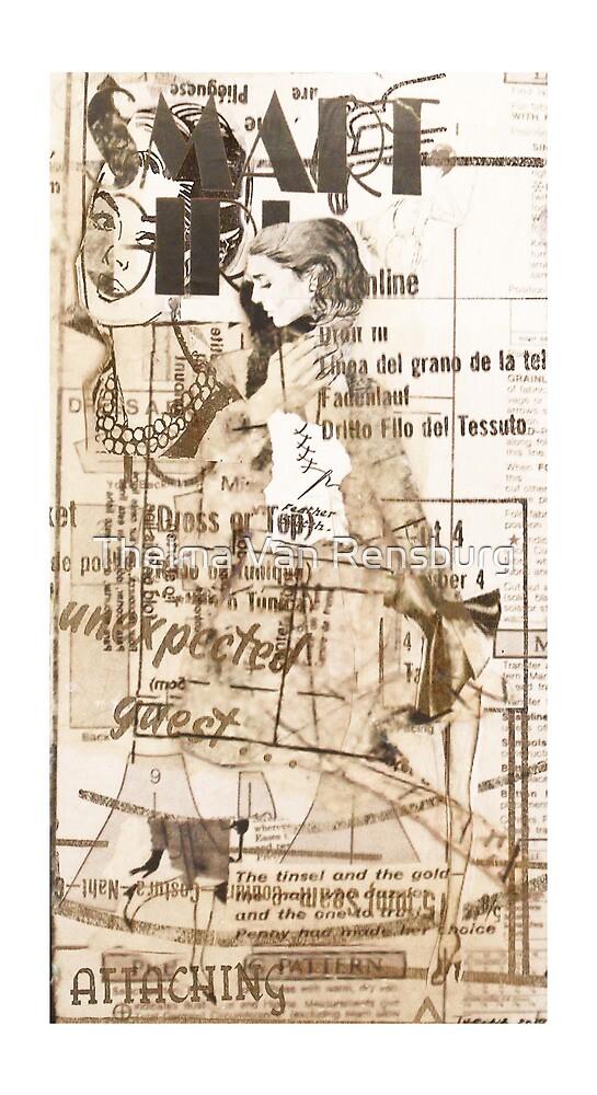 smart girl, 2010 by Thelma Van Rensburg