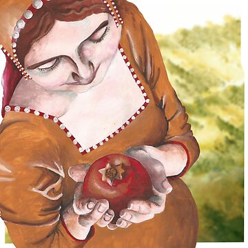 Mary and the Pomegranate by ImogenSmid