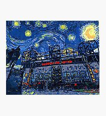 Starry Night in Manchester - www.art-customized.com Photographic Print