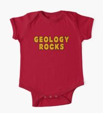 Geology Rocks Baby Body Kurzarm