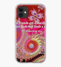 Faithful Friends iPhone Case