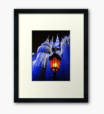 magic kingdom Framed Print
