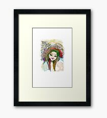 Coquette Framed Print