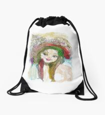 Coquette Drawstring Bag
