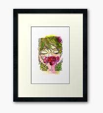 Cherry Girl Framed Print