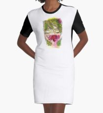 Cherry Girl Graphic T-Shirt Dress