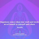 Work and Words are of Benefit by empowerwithart