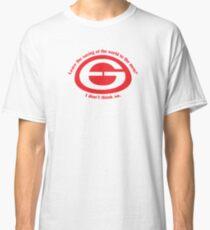 Saving the world Classic T-Shirt