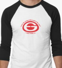 Saving the world Men's Baseball ¾ T-Shirt