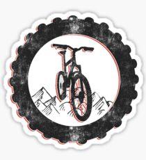 Mountain Bike Cycling Bicycle  Sticker