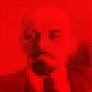 Lenin in Red Square by Alex Preiss