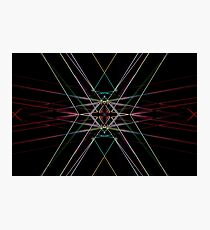 Ruby Intersection Photographic Print