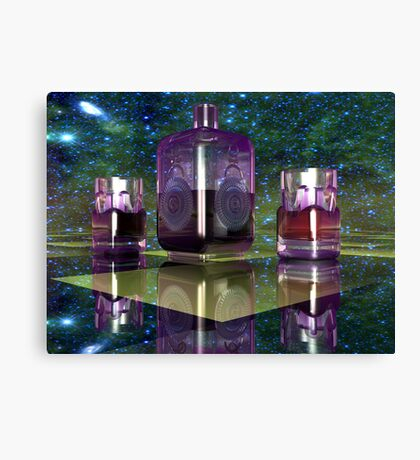 Half A Bottle of Desire Canvas Print