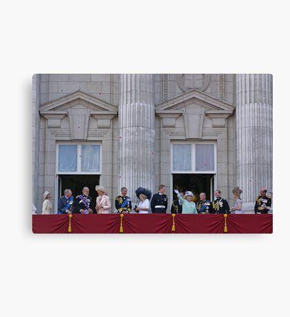 Royal Family Canvas Print