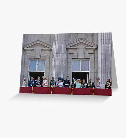 Royal Family Greeting Card