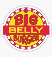Big Belly Burger shirt - Arrow, Diggle, Starling City Sticker