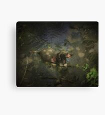 The Cooldown Canvas Print