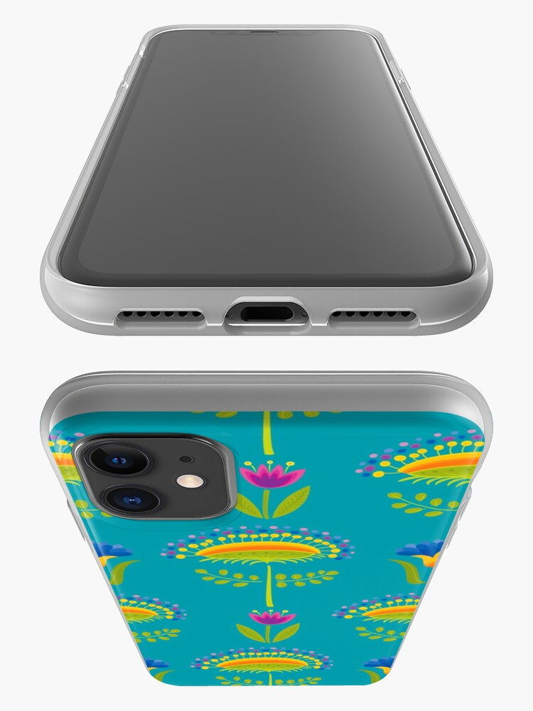 Alternate view of Floral Pattern iPhone Case & Cover