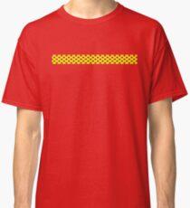 Yellow Red Polka Dots  Classic T-Shirt