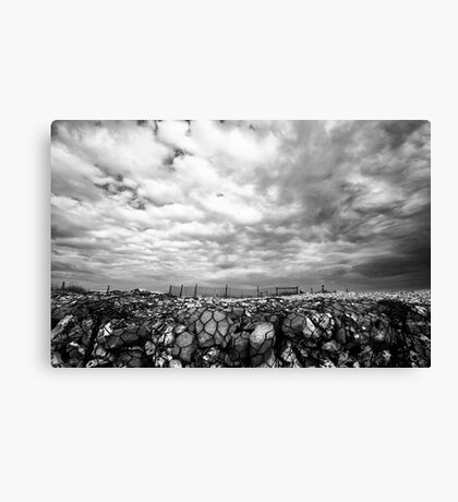 Away From The Beach Canvas Print