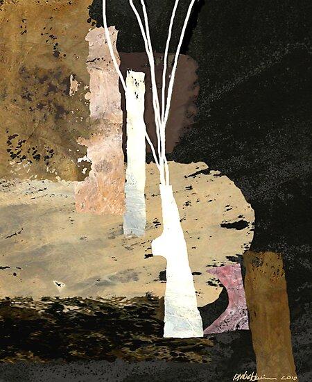 """White Vase""  by Patrice Baldwin"