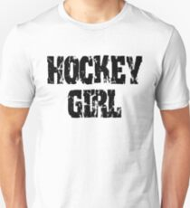 Hockey Girl Slim Fit T-Shirt