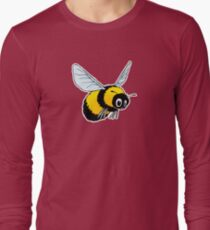 Happily Bumbling Bumble Bee Long Sleeve T-Shirt