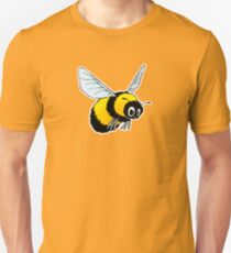 Happily Bumbling Bumble Bee Unisex T-Shirt