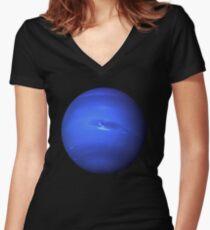 Neptune Women's Fitted V-Neck T-Shirt