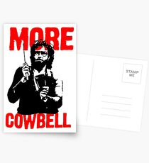 More Cowbell T-Shirt Postcards