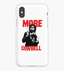 More Cowbell T-Shirt iPhone Case/Skin