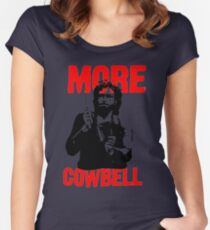 More Cowbell T-Shirt Women's Fitted Scoop T-Shirt