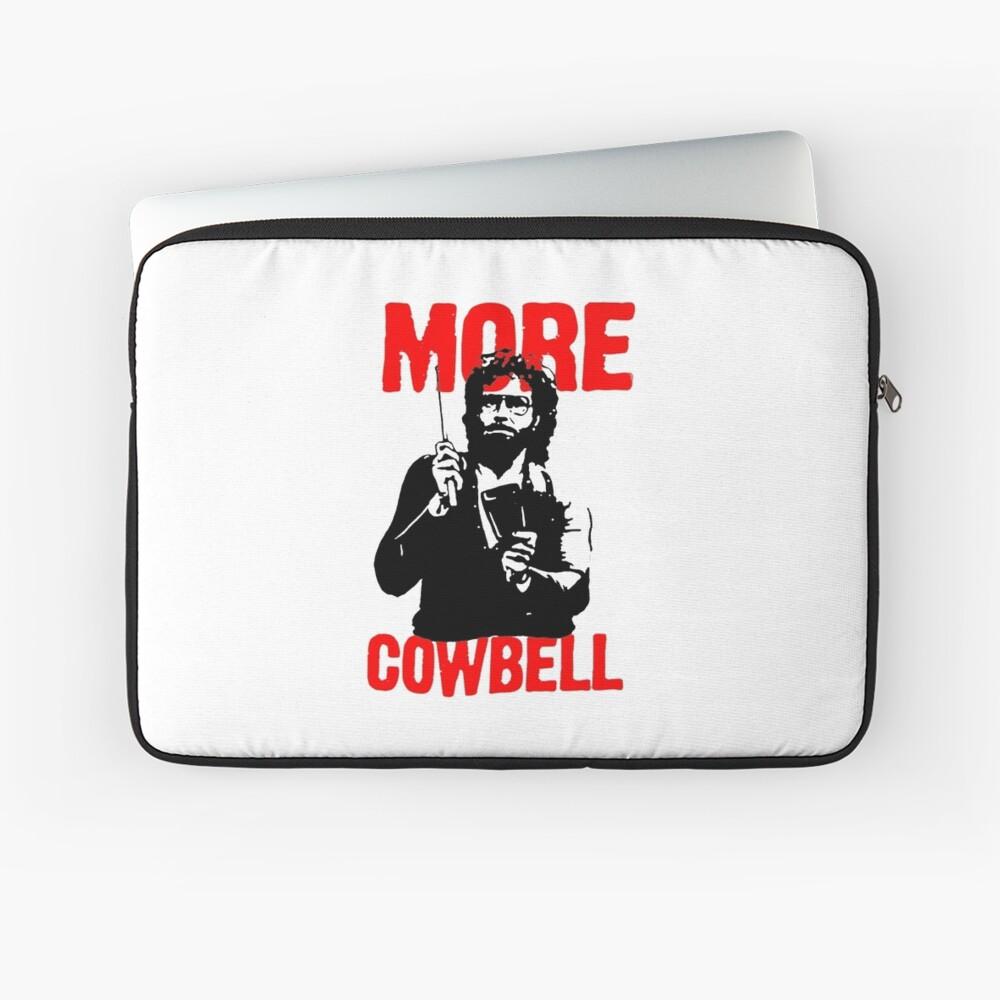 Mehr Cowbell T-Shirt Laptoptasche