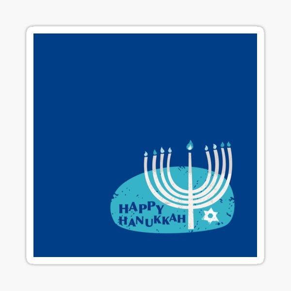 Happy Hanukkah! Glossy Sticker