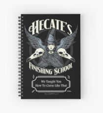 Hecate's Finishing School Spiral Notebook