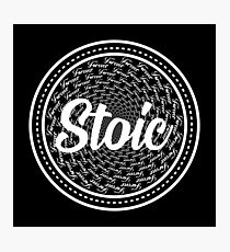 Forever Stoic - Stoic Forever Photographic Print