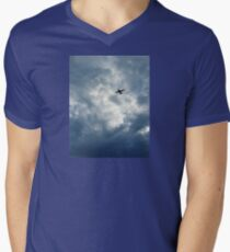 Above and Beyond Mens V-Neck T-Shirt